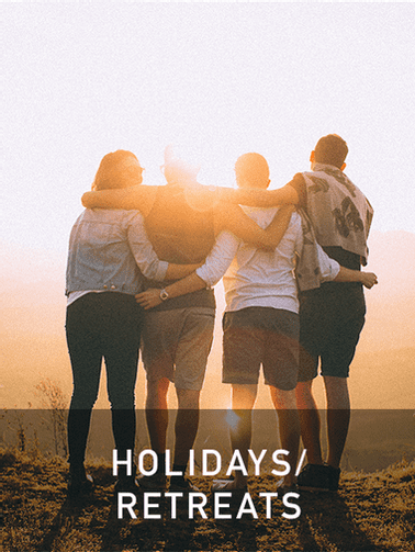 holidays retreats